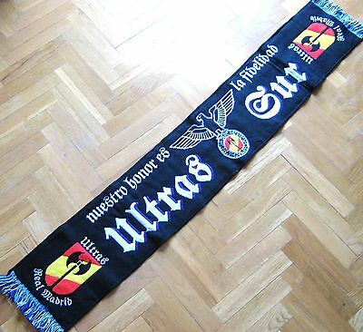 Bufanda Scarf Ultras Sur Real Madrid Supporter Schal Sciarpa Ultra Hooligan
