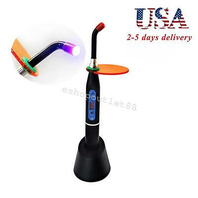 Dental Wireless Cordless LED Curing Light Lamp 2000mw 10W New Model US ship