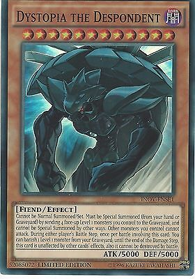 Yu-Gi-Oh Card: Dystopia The Despondent - Super Rare - Inov-Ense1