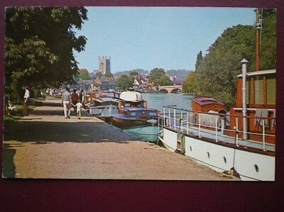 Postcard Oxfordshire Henley On Thames - The Promenade C1960