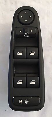 Citroen C4 Picasso 96639383Zd Driver Side  Electric Window & Mirror Switch