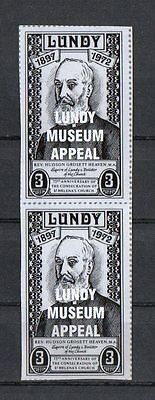 Lundy Island Locals-Museum Appeal Stamps.