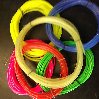 Silicone fuel tube- For Glow Motors 3/32 (2.3mm) ID for upto 120 size 5m lengths