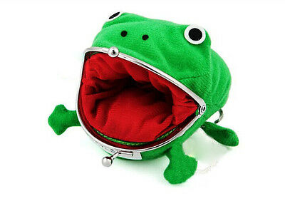Green Naruto cosplay Naruto coin frog wallet green color lovely wallet