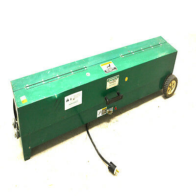 """Greenlee Textron 851 Portable 1/2"""" - 4"""" Electric PVC Heater/Bender 2300W"""