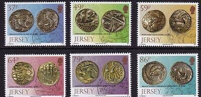 Jersey 2011 Archaeology, Celtic Coins MNH (6)