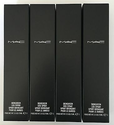 MAC Skinsheen Leg Spray ~ Dark ~ NIB x 4