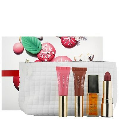 NEW Clarins Gifts & Sets Lip Collection Value Set FREE P&P