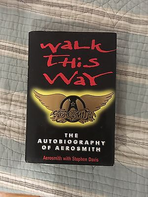Aerosmith Autobiography Autographed By JOE PERRY
