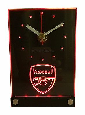 Arsenal Football Club 3D Effect Table Clock - The Gunners - Christmas Gift