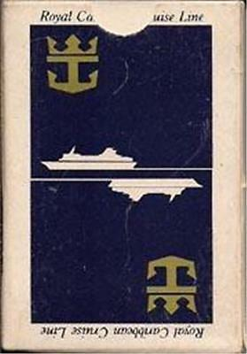 Royal Caribbean Cruise Line  Playing Cards BLUE