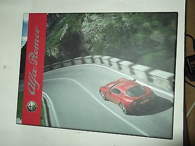 alfa romeo book gift with new car boxed