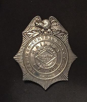 Obs. 1940's Issue CNJ - Reading Railroad Police Badge