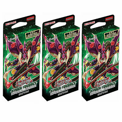3X YuGiOh Invasion Vengeance Special Edition - Sealed Booster Packs of 29 Cards