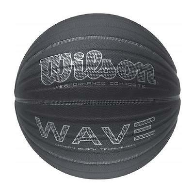 Wilson Wave Carbon Black Basketball - Size 7 - RRP: £24.99