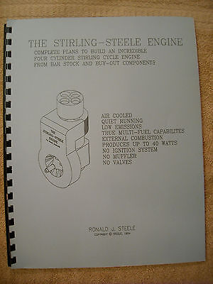 The Sterling-Steele how to build engine manual