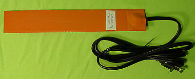50 Watt 120 V Volt Silicone Pad Heater WVO For Waste Vegetable Oil Fuel 3M Back