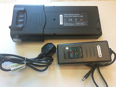 eBike Bettery Pack Li-ion 24V 8.8Ah / 211Wh  and Charger