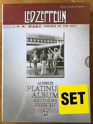 Brand new Led Zeppelin complete tab book set.....