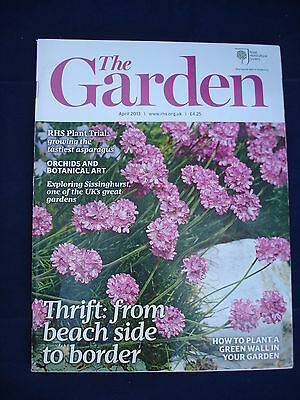 RHS The Garden magazine - April 2013 - Thrift