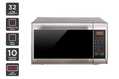 NEW Kogan Microwave Oven BRAND NEW 32L Stainless Steel Convection Grill