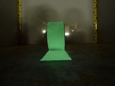 """2"""" x 10' photoluminescent glow in the dark tape roll stage safety [3*I-60]"""