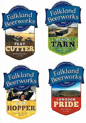 Christmas Promo - Falklands - 4 micro beer labels