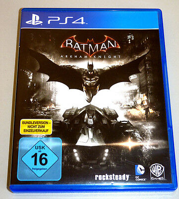 BATMAN: ARKHAM KNIGHT (PlayStation 4) PS4 DEUTSCH NEU & OVP
