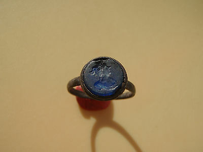 Post Medieval bronze Ring 16-17 century