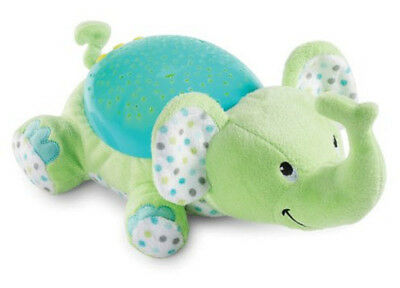 Helping Baby Sleep Plush Baby Kids Toy Animal Doll Soft Music And Star Projector