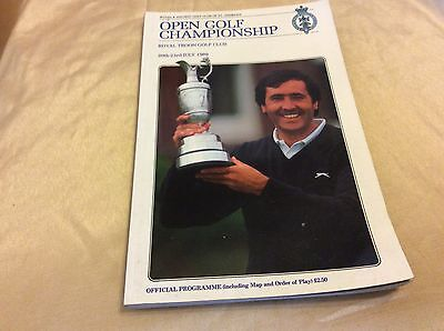 118th Open Golf Championship Official Programme 1989