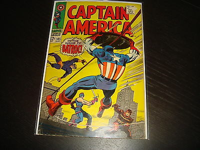 CAPTAIN AMERICA #105 Jack Kirby   Marvel Comics 1968 VG/FN