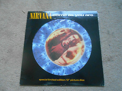 """Nirvana ltd edition 12"""" picture disc Come as you are"""