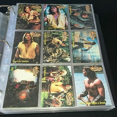 Hercules Trading Cards All Seasons Rittenhouse Complete 120 cards