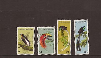 Papua New Guinea 1970 Birds Mnh Set Of Stamps