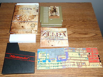 Nintendo NES Timewalk Games The Legend of Zelda: Outlands Complete in Box CIB