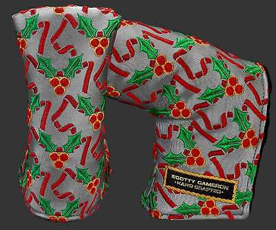 Scotty Cameron 2016 Holiday Holly Jolly Dog Headcover New In Bag