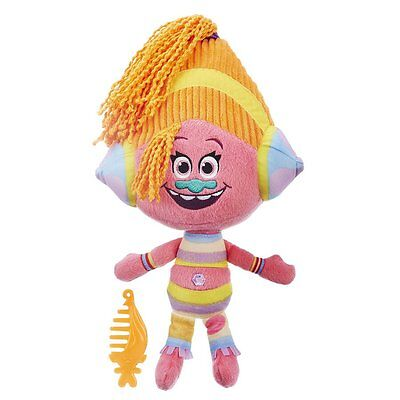 Trolls Brushable Plushable Deluxe Kids Toy - Assorted