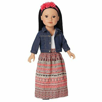 Doll Callie Toy, Journey Girls 18 inch for Kids