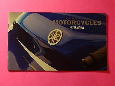 2003 Yamaha Motorcycles Lineup Sales Brochure  34 Pages Small Pocket Size