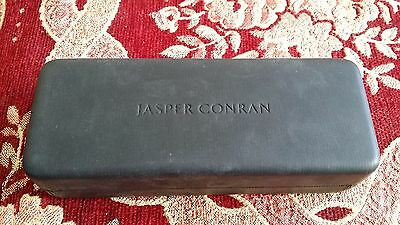 Jasper Conran Hard Glasses Case with Cleaning Cloth - Hardly Used