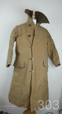1941 WWII British Army Tropal Canvas Kapok Lined N.Africa Desert LRDG Coat