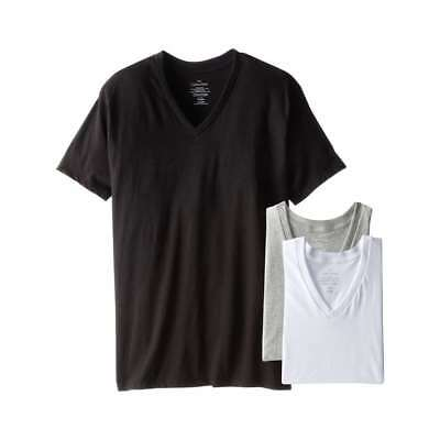 new release reliable quality uk store CALVIN KLEIN MEN'S Classic V Neck Underwear T Shirts 3 pc ...