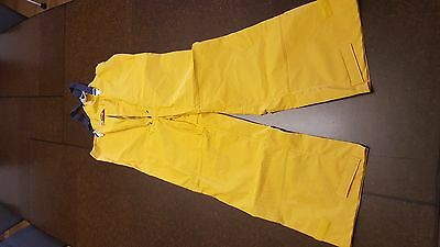 Land's End Foul Weather Bibs Pants– Sailing Fishing Gear– Size Large
