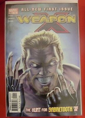 Weapon X 1-28 Marvel Comic Set Complete Wolverine Tieri Mandrake Grant 2002 Nm