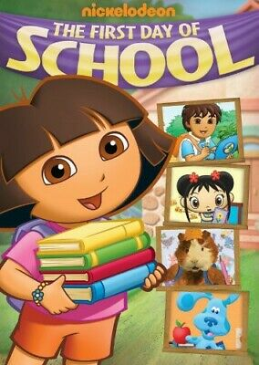 Nick Jr. Favorites: The First Day Of School [New DVD] Full Frame, Dolby