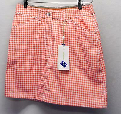New Ladies Size US Size 6 Daily Sports Wind Mini Micro Polyester Golf skorts