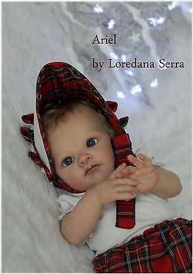 Lim. Edition Poppet Adrie Stoete Reborn Doll Baby Girl The Little Prince's House
