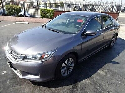 2015 Honda Accord LX 2015 Honda Accord LX Salvage Wrecked Repairable! Priced To Sell! Wont Last! L@@k