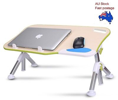 Adjustable Portable Laptop Desk Notebook Stand Table Bed Multi Function